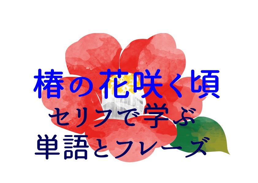 椿の花咲く頃 セリフ 韓国語