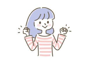 韓国語の勉強に意欲を出す女の子