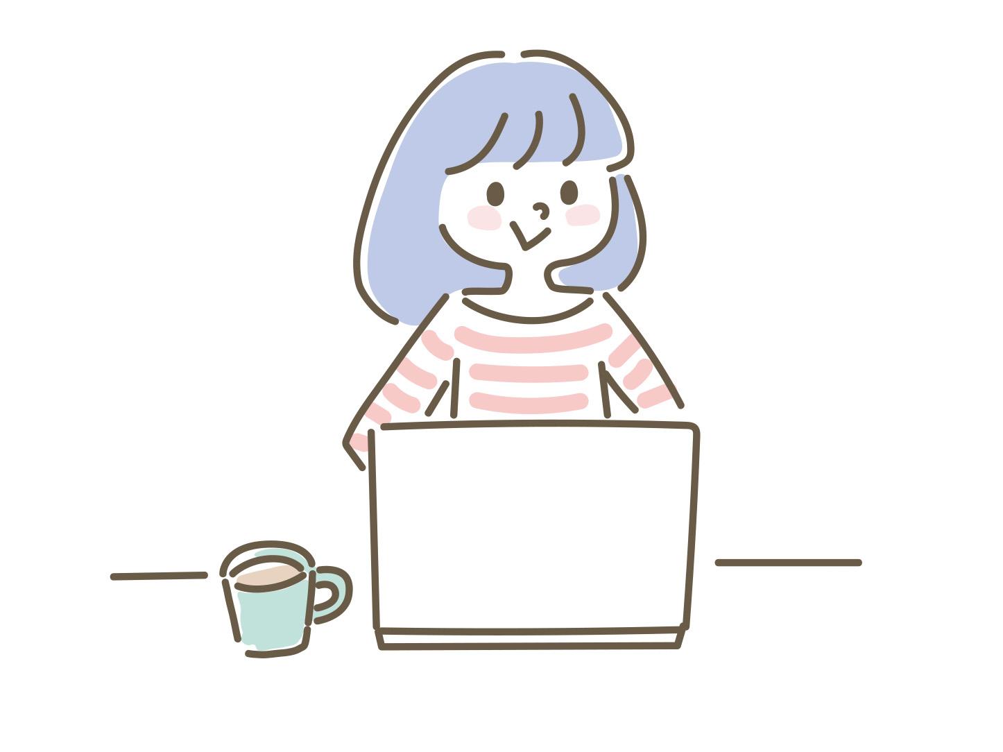 韓国語勉強を始める女性