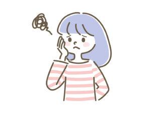 韓国語の勉強の始め方がわからないで悩む女性